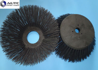 200mm Base Industrial Cleaning Brushes For Nilfish Motor Driven Machine